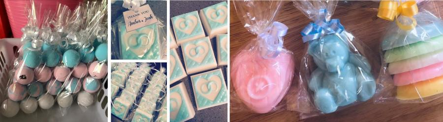 Baby soap products